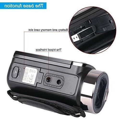 Camera Camcorders Besteker 1080P Digital Zoom wi...