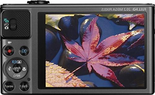 Canon HS Wi-Fi Digital Camera 32GB + Tripod HDMI Cable + Deluxe Kit