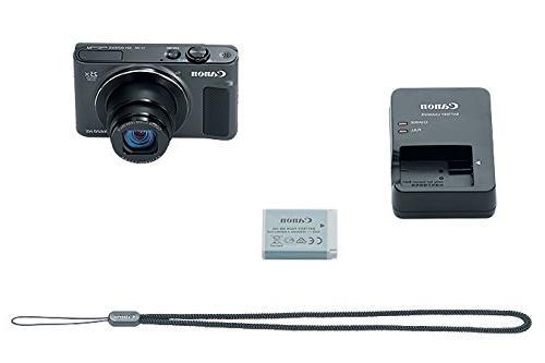 Canon PowerShot SX620 HS Wi-Fi Digital 32GB + + Battery + + Flex Tripod HDMI Cable + Deluxe Kit