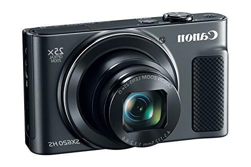 Canon Wi-Fi Camera 32GB + Battery + + Flex Tripod + HDMI DigitalAndMore Deluxe