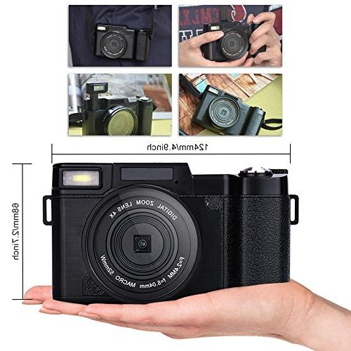 Digital Camcorders HD 1080p Retractable Flash with
