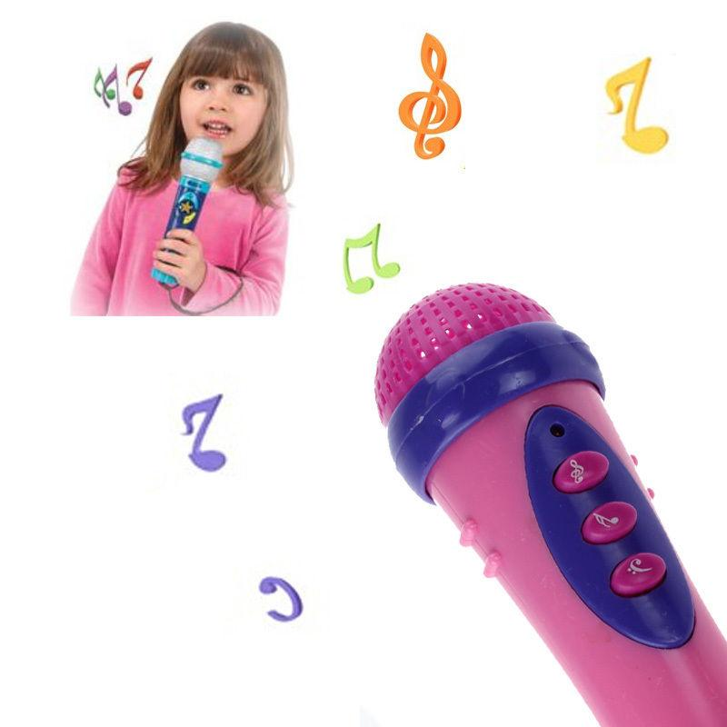 Creative Karaoke Singing Microphone Toy For Child Girls C