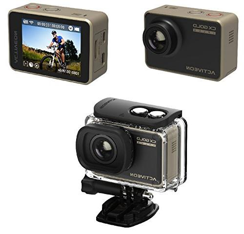 ACTIVEON CX Gold Action Cam #GCA10W