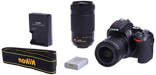 Nikon D5600 24.2MP DX-Format DSLR Camera with AF-P 18-55mm V