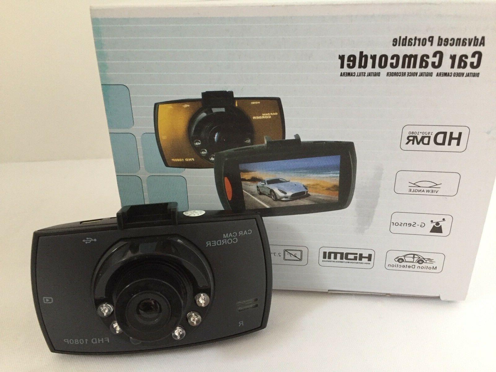Dash Cam 1080 Night Vision Detection