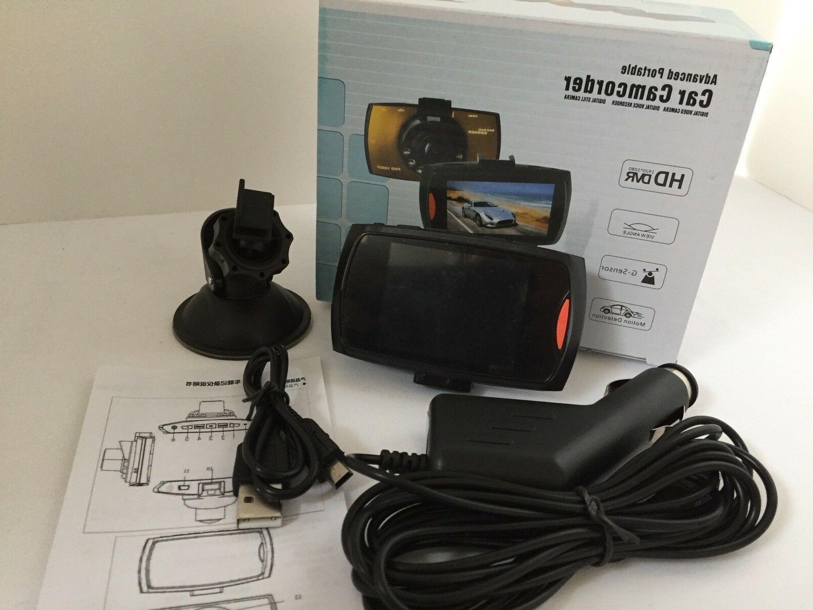 Dash Cam Car 1080 DVR Night Vision And Detection