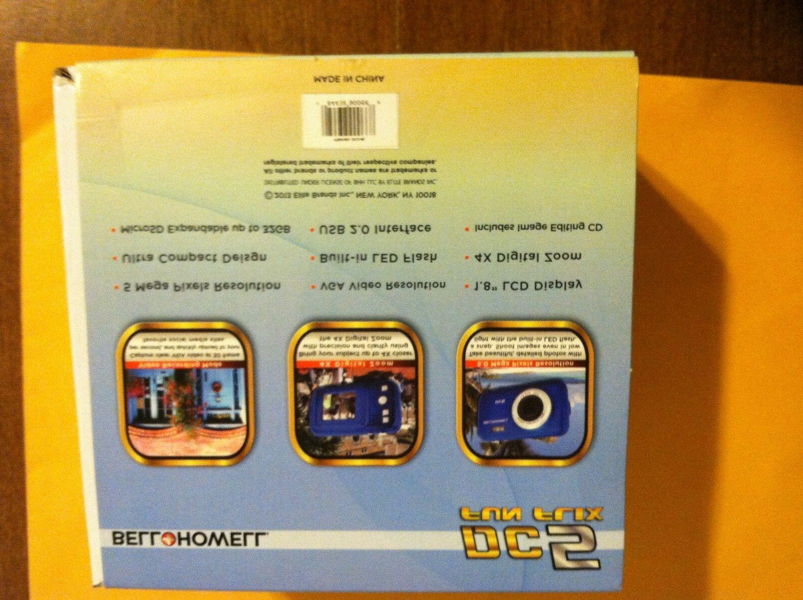 Bell Howell Fun-Flix 5.0MP Camera - Blue