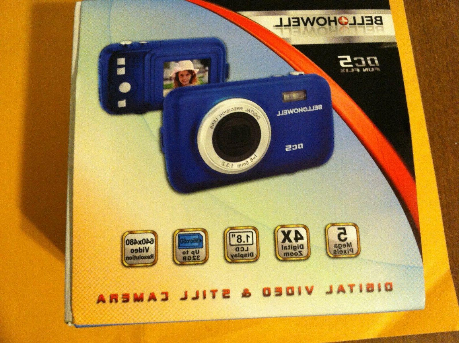 dc5 fun flix 5 0mp digital camera