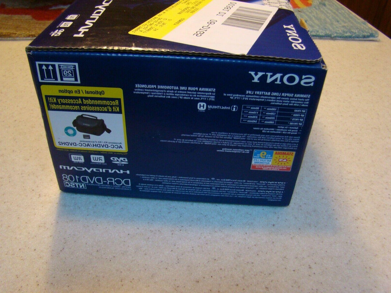 Sony Camcorder 40x Zoom. BOX