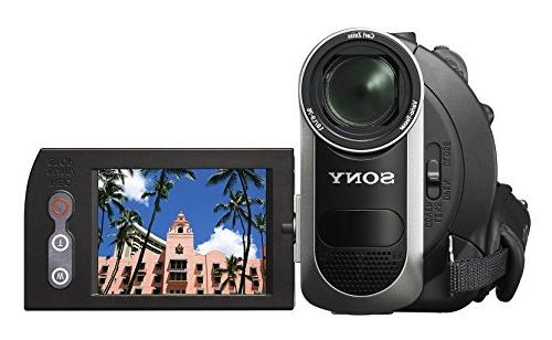 Sony Camcorder with 40x Zoom