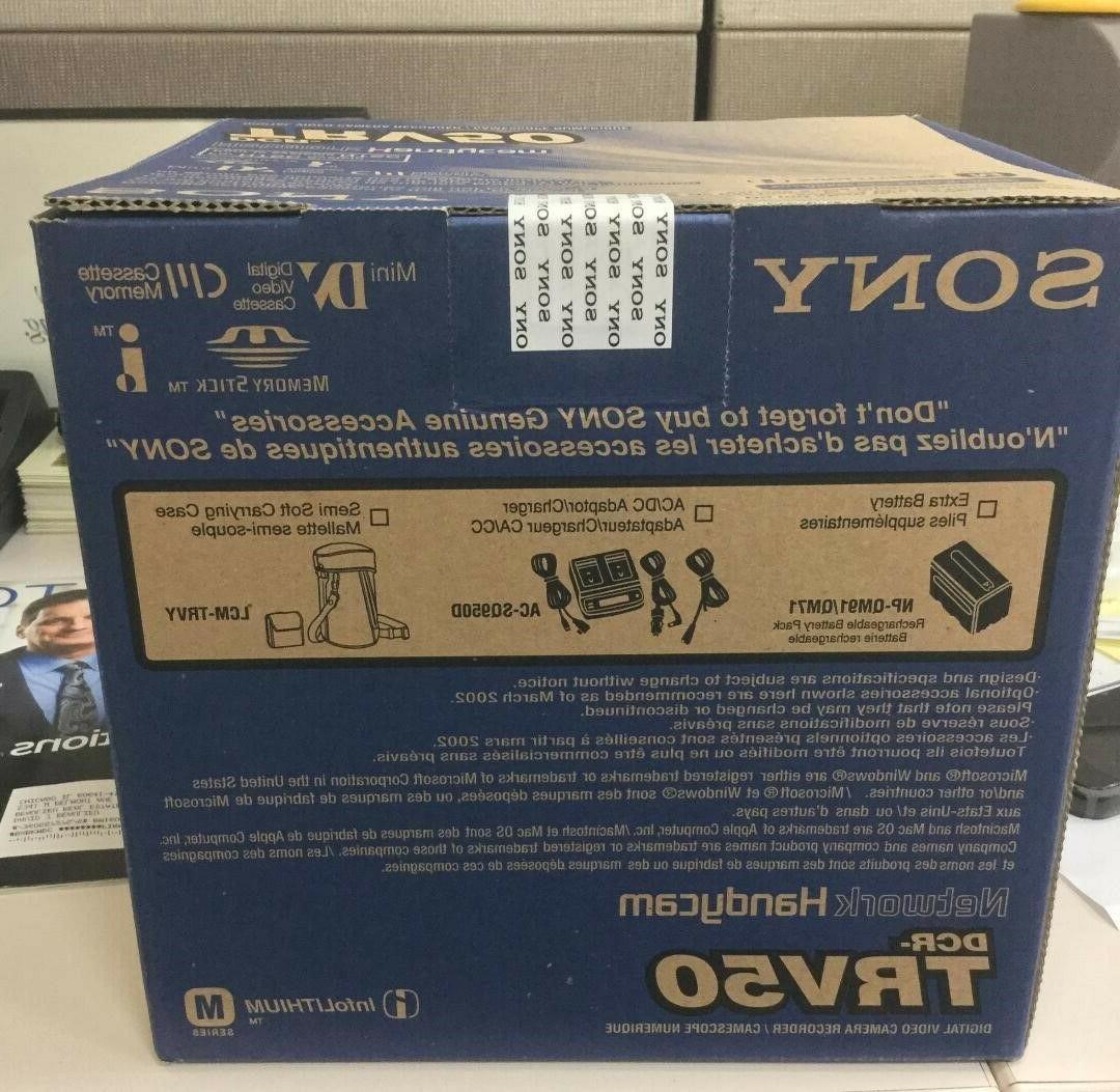 Sony DCR-TRV50 Mini digital IN SEALED BOX.