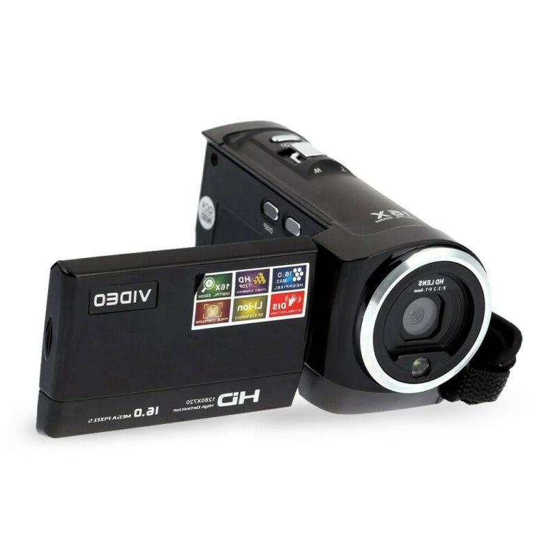 FULL HD LCD 16X ZOOM Night Vision DV Camera