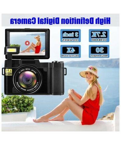 Digital 30MP Vlog Camera
