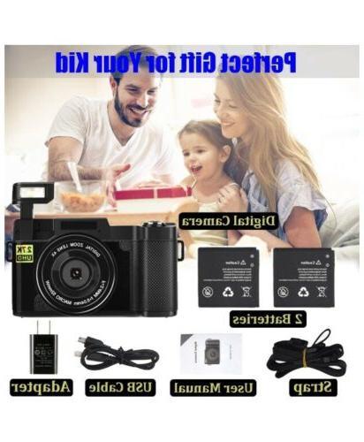 "Digital Camera 30MP HD Vlog With Screen 3"""