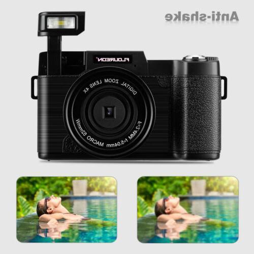 3'' TFT Digital Camcorder 1080P 4X Zoom Flash