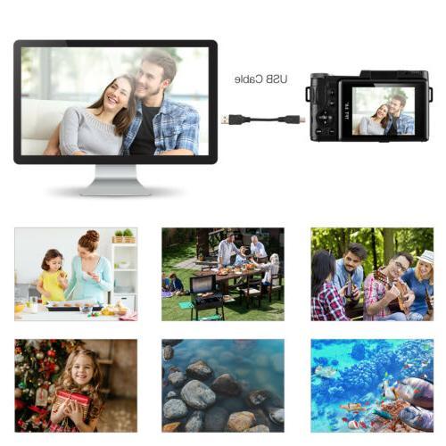 3'' Camcorder 1080P DV 4X Flash Wide