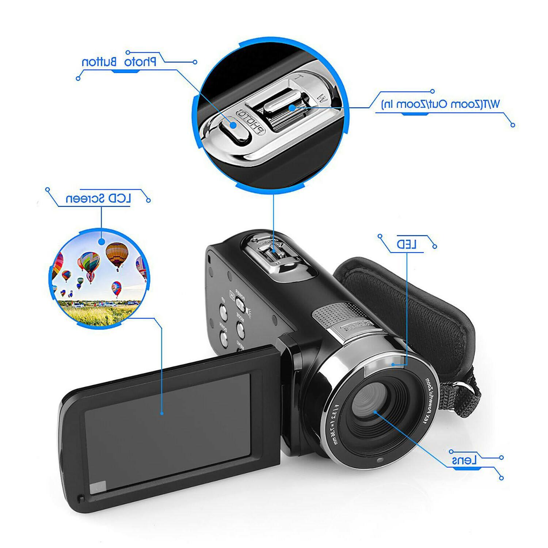 FULL LCD ZOOM Night Vision Video DV
