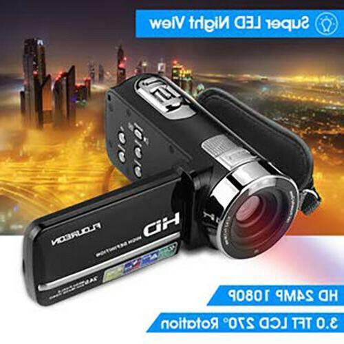 FULL HD 1080P LCD Vision Digital Camera Camcorder