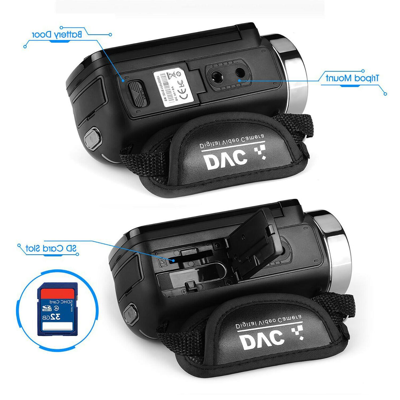 FULL HD 1080P 24MP LCD 16X Vision Camera Camcorder