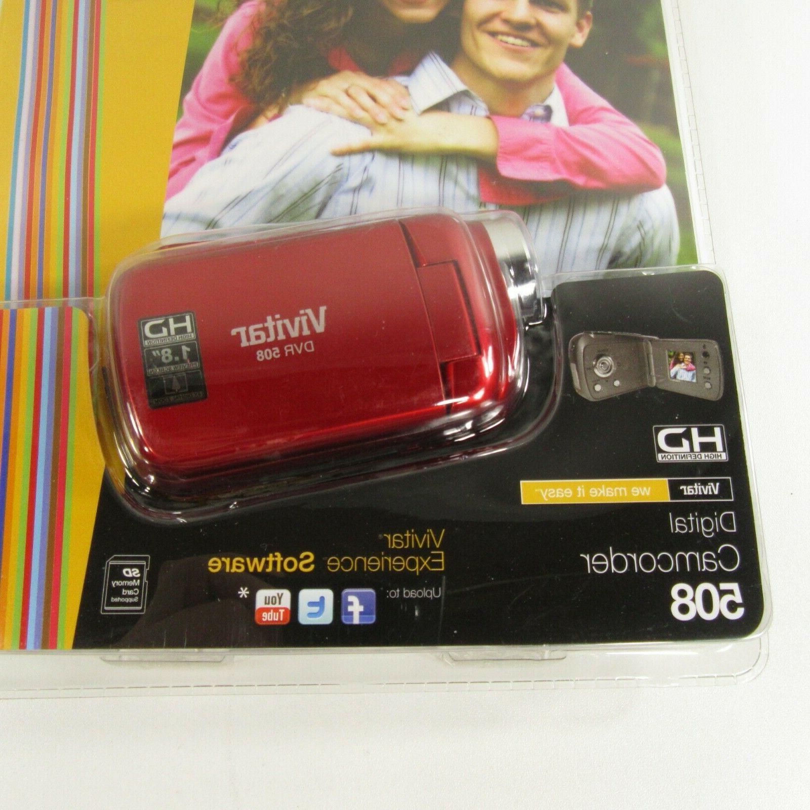 Vivitar DVR 506 Camcorder Camera 4x