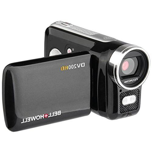 Bell & DV200HD HD Video Camera with Built-in Video Light with 32GB Batteries + LED Light + +