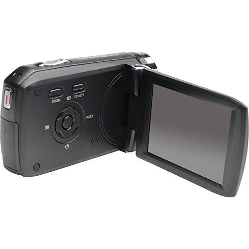 Bell 1080p Video Camcorder 32GB + Case + + Video Light with USA