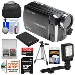 Bell & Howell DV30HD 1080p HD Video Camera Camcorder  with 1