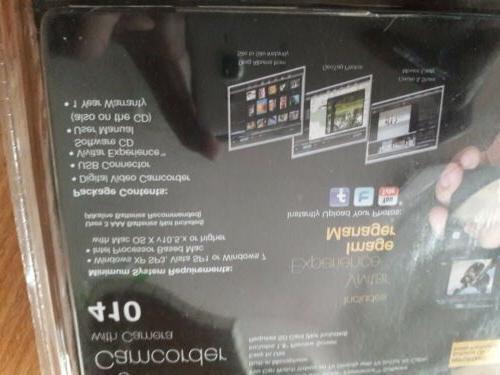 Vivitar Media Digital Camcorder Purple