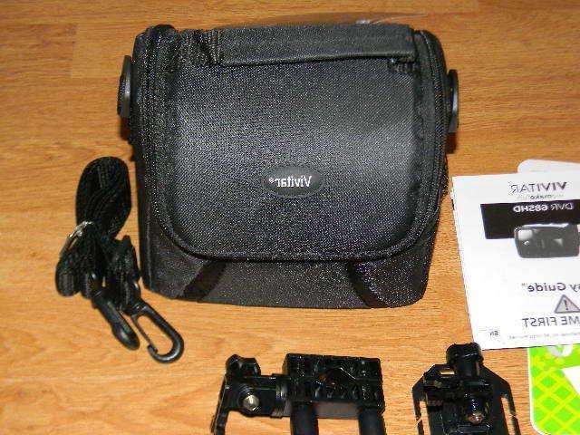 Vivitar 685HD Action Bag Bundle Package NEW