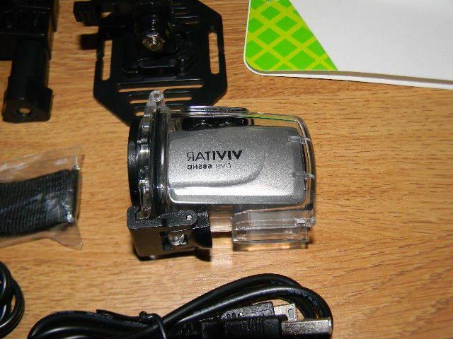Vivitar 685HD Action Camcorder with Bag Bundle