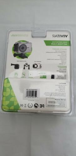 Vivitar DVR786HD 1080p Waterproof Action Camcorder