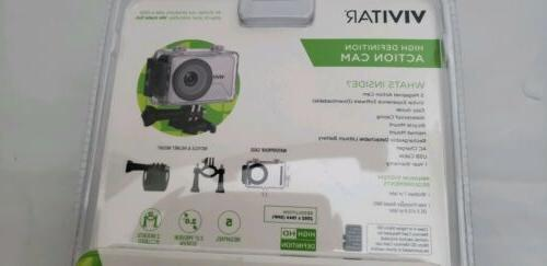 Vivitar DVR786HD Waterproof Action Camcorder