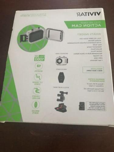 Vivitar 1080p Waterproof Video Camera with Remote