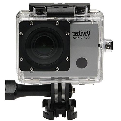 Vivitar DVR914HD 1440p HD Wi-Fi Waterproof Action Video Came