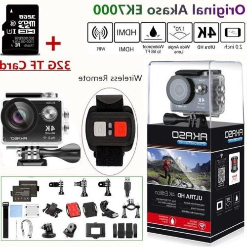 ek7000 action camera ultra hd 4k wifi