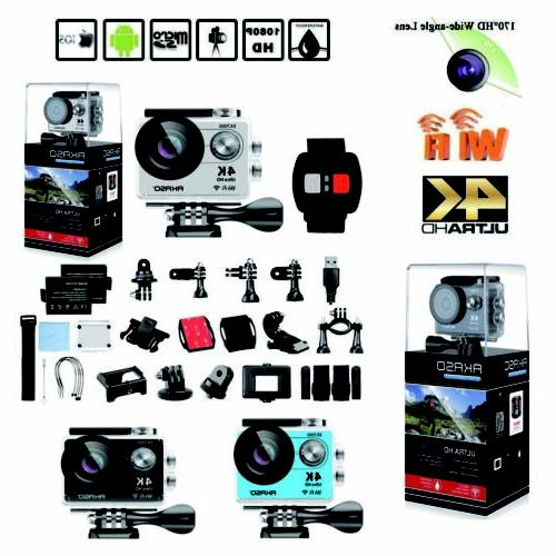 Akaso EK7000 WiFi 4K Waterproof Sports Action Camera DV Camc