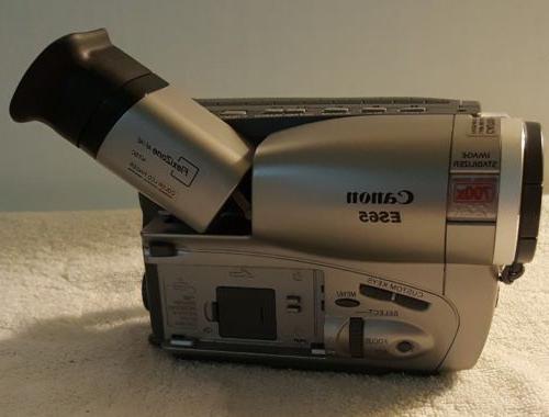 CANON ES65 HI8 8mm Video Camcorder Image Stabilizer