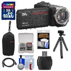 JVC Everio GZ-R320 Quad Proof Full HD Digital Video Camera C
