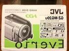 JVC EVERIO GZ-MG20U HARD DISK CAMCORDER 20GB HARD DISK DRIVE
