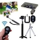 Extendable Bluetooth Handheld Monopod with Tripod Selfie Sti