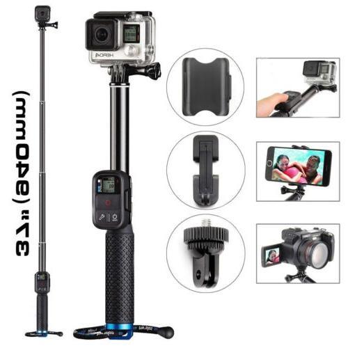 Extendable Telescopic Monopod Selfie Pole Handheld Stick for