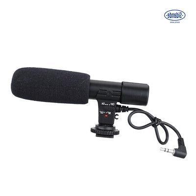 Sidande External DV Camera Camcorder Microphone Shotgun Mic