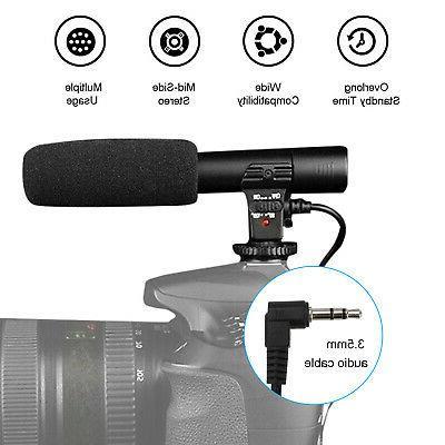 External Stereo DSLR Camera Canon Panasonic