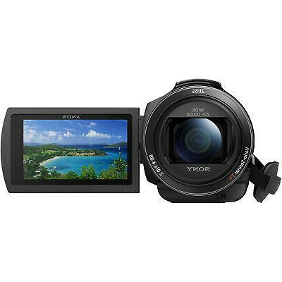 Sony Handycam Camcorder Video Recording Bundle