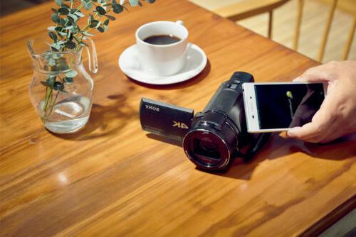 Sony FDR-AX53/B with Grip/Tripod Zoom