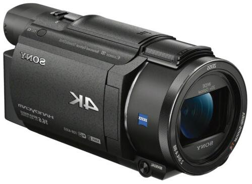 Sony FDR-AX53/B 4K Camcorder with and Zoom