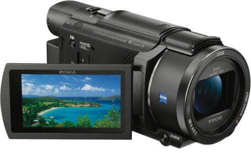 Sony 4K with Grip/Tripod Gun Zoom