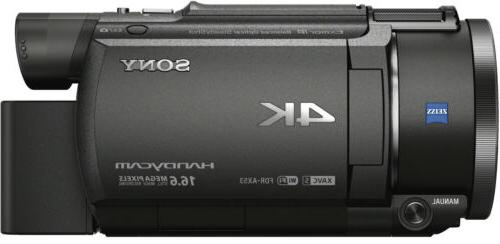 Sony FDR-AX53 UHD 4K 16.6MP Video Camera Handycam Camcorder
