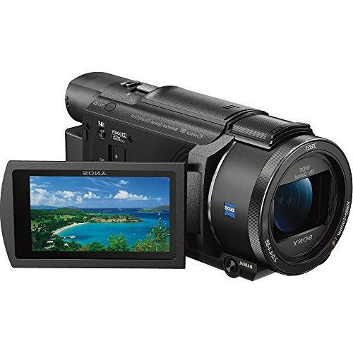 Sony FDR-AX53/B Camcorder with CMOS Sensor Bundle