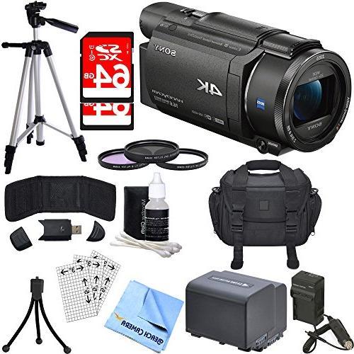 Sony FDR-AX53/B 4K Handycam Camcorder